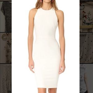 Size 4 white LIKELY Gilmore dress NWT